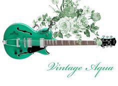 Vintage Aqua