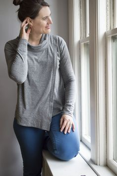 Casual but Elegant. My Tallinn Sweatshirt - a happy stitch