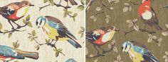 Our brand NEW print for autumn previews today: Garden Birds in Cream & Olive. Catch it before anyone else. #shop #cathkidston #autumn