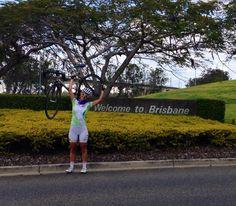 Paola arriva in Australia e inizia a pedalare nella terra dei #canguri #kangaroos