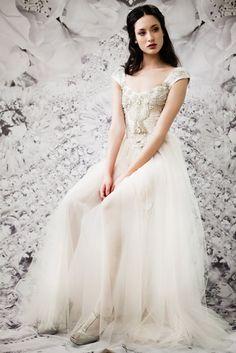Beaded gown / ida sjostedt vintage wedding with skirt underneath Wedding Pics, Wedding Styles, Wedding Ideas, Wedding Stuff, Pretty Dresses, Beautiful Dresses, Beautiful Bride, Bridal Gowns, Wedding Gowns