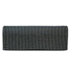 Over front clutch covered in rhinestones