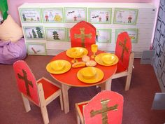Castle role-play area classroom display photo - Photo gallery - SparkleBox by laverne Castle Theme Classroom, Classroom Themes, Fairy Tale Theme, Fairy Tales, Castles Ks1, Knights And Castles Topic, Chateau Moyen Age, Castle Project, Reception Class