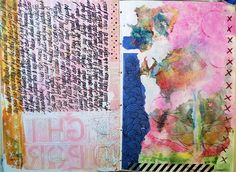 Art Journal pages - C Bell 2015