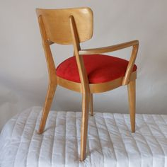 (3) Vintage Heywood Wakefield Dining Chair M1551A- Metro Reto Furniture - Mid Century Modern furniture