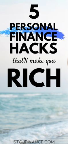 5 Personal Finance Hacks to Make You Rich - Financial Planning Tips - Struggling to learn how to manage your money? Forgot how to make a budget and stick to it? Planning Budget, Financial Planning, Financial Assistance, Financial Budget, Ways To Save Money, Money Saving Tips, Money Tips, Money Budget, Groceries Budget