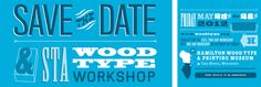 Announcement for Wood Type workshop