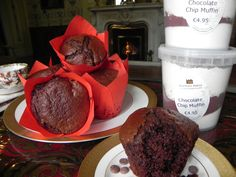 Chocolate muffins made with our Kylemore Abbey baking mix, a great treat to bake at home.Available to buy in our Craft shop or Mitchell's Café or online at www.kylemoreabbeytourism.ie/shop