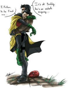 Jason Todd and Damian Wayne