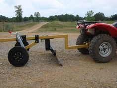 Garden Tractor Attachments, Atv Attachments, Diy Welding, Welding Projects, Metal Welding, Outdoor Tools, Outdoor Projects, Accessoires Quad, Welding Trailer