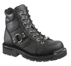 Harley-Davidson Women's Maddy 6 Lace Up Boot. D84189