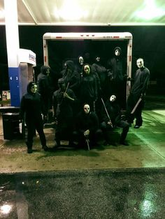Purge On Halloween With The Squad #Ohio