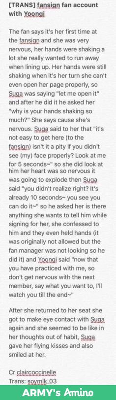 This makes Yoongi wreck my whole bias list omg he's so nice