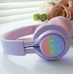 Riwbox Wireless Bluetooth Kids Headphones with colorful lighting for Toddlers,Teens,Boys,Girls,Adults. Light Up Headphones, Pink Headphones, Computer Headphones, Bass Headphones, Girl With Headphones, Running Headphones, Sports Headphones, Bluetooth Headphones, Professional Headphones