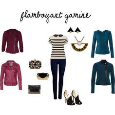 """flamboyant gamine- date night"" by britt-galbraith on Polyvore"
