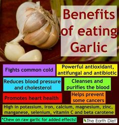 5 Natural Kitchen Healers You Can't Live Without! Benefits Of Eating Garlic, Garlic Benefits, Healthy Eating Tips, How To Stay Healthy, Healthy Foods, Clean Eating, Health And Wellness, Health Tips, Health Benefits