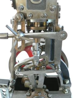 Stuart vertical steam engine details