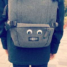 Customised Eastpak by pabbllooooooo on Instagram #Eastpak #backpack #rucksack #DIY