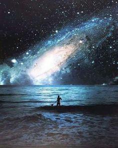 Imagínate, estar en el mar y tener esa vista!! ♡