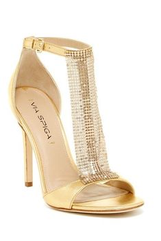 Christian Louboutin Catwomen All Gold Glamorous Rocking Spiked ...