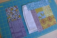 Quilt as you go to get stiffness without heavy interfacing
