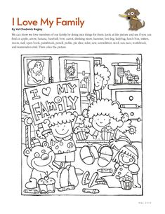 thanksgiving hidden pictures january 2010 free coloring pages primary lessonslds - Coloring Pages Primary Lessons