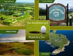 Southwest Ireland has Golf down to a Tee Titanic Museum, Grafton Street, Golf Tour, Golfers, Belfast, Day Tours, Northern Ireland, Dublin, Golf Courses