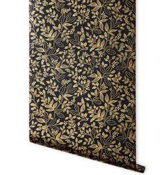 Queen Anne (Ebony) Metallic Screen Printed