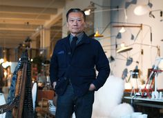 Furniture enthusiast Joel Chen