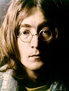 """White Album"" Portrait: John Lennon of the rock and roll band ""The Beatles"" poses for a portrait for an inset in their album ""The White Album"" which was released on November 22, 1968. (Photo by Michael Ochs Archives/Getty Images) #TheBeatles #Beatles"