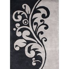 Give your home an update with this classic New Zealand wool rug in shades of grey and black. This rug will really tie your room together.