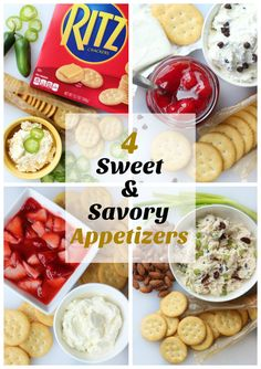 Crackers Appetizers, Ritz Crackers, Yummy Appetizers, Appetizers For Party, Yummy Snacks, Appetizer Recipes, Appetizer Ideas, Snack Recipes, Ritz Cracker Recipes