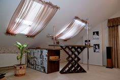 Gordijn dakraam draperii pinterest curtain ideas bedrooms and
