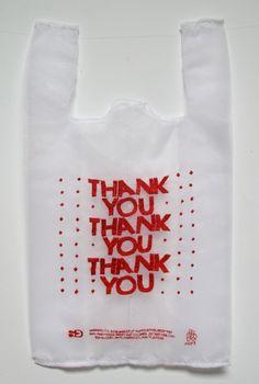 Lauren DiCioccio Trompe l'Oeil Organza Plastic Shopping Bags