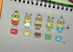 Social media minions