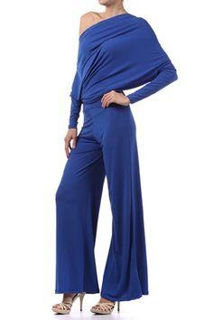 Fashion Bug Womens Plus Size Multi Way Reversible Plunging Off One Shoulder Halter Jumpsuit www.fashionbug.us