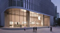 From New York to Shanghai, here are some of our favorite Apple store designs. Apple Shop, Nanjing, Shanghai, Retail Shop, Retail Displays, Shop Displays, Merchandising Displays, Window Displays, Apple Inc