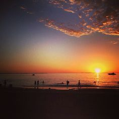 One of #Perth's beautiful Indian Ocean sunsets