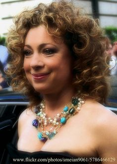 Alex Kingston...so dang georgous