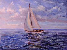 pinturas de veleros - Buscar con Google