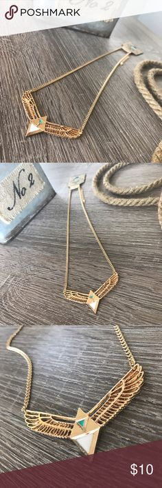 The Soaring Triple Equilateral Necklace Brand new with tags. 🏷 Super edgy and very pleasant to look at. 😍 Only one left in stock! Jewelry Necklaces