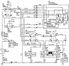 9 best john deere images tractors, john deere garden tractors John Deere 455 Garden Tractor Wiring Diagram john deere wiring diagram on and fix it here is the wiring for that section jd