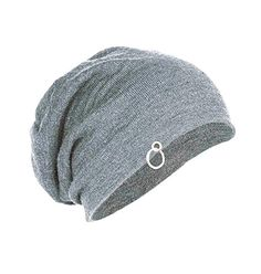 bc6b915d284 Michelangelo Unisex Cotton Slouchy Beanie and Skull Ring Cap for Summer