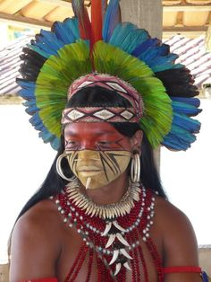 The Pataxó are a native tribe in Bahia, Brazil with a population of about 11,800 individuals.