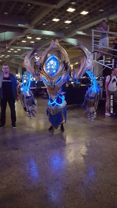 Starcraft Archon Cosplay From Dreamhack montreal