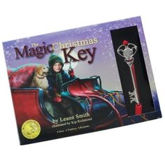 The Magic Christmas Key- Modern illustrated classic reassures children that all things are possible when you believe. In The Magic Christmas Key, readers meet Andy, who is given the gift of a Magic Christmas Key by his grandfather. He is supposed to keep the key safe, but instead he allows the Magic Key to stumble into the hands of others. In the wrong hands, the Magic Key creates mayhem and the Christmas morning chaos that ensues requires Andy to be honest and brave.