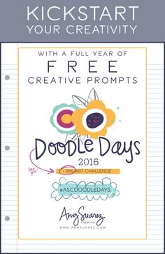 366 Doodle Prompts to Kickstart Your Creativity Today! | AngSuarez Creative…