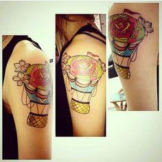 Balão tattoo