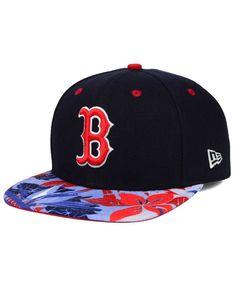 d2241466ac1a4 New Era Boston Red Sox Floral Viz 9FIFTY Snapback Cap   Reviews - Sports  Fan Shop By Lids - Men - Macy s
