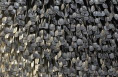 Dog Tags of the 58,211 American Services personnel who died in the Vietnam War hanging from the ceiling of the National Vietnam Veterans Art Museum    https://www.facebook.com/MarineCorpsLife